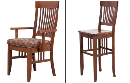 woodworks home furnishings shaker chairs and stools