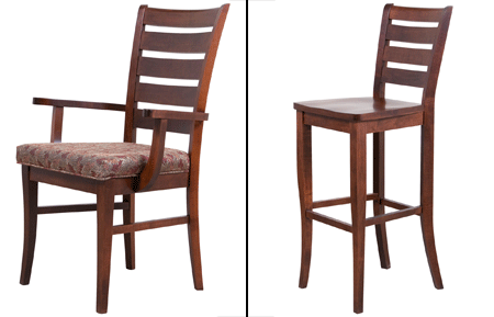 woodworks home furnishings sienna chairs and stools